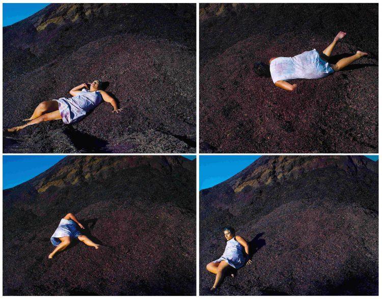 Berni Searle; Yield; Free Fall; Descent II; Descent III; four