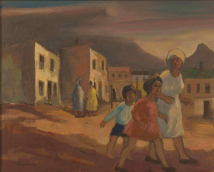 James Thackwray; Bo-Kaap
