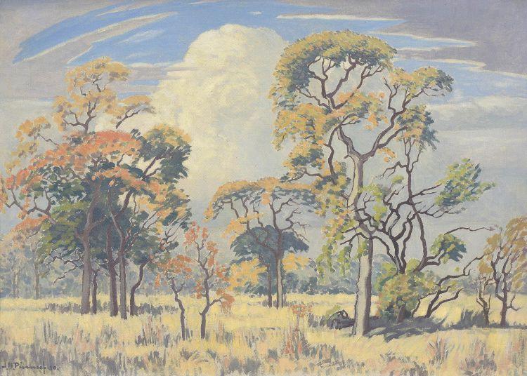 Jacob Hendrik Pierneef; Bushveld Game Reserve