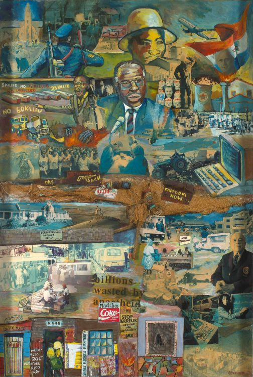 Willie Bester; Political Collage