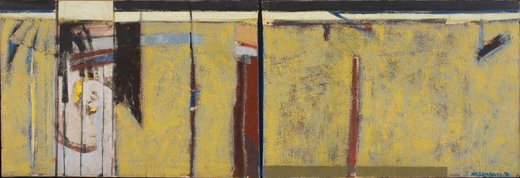 Henry Symonds; Horizontal Composition, diptych
