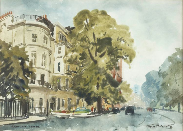 Terence McCaw; Park Lane, London