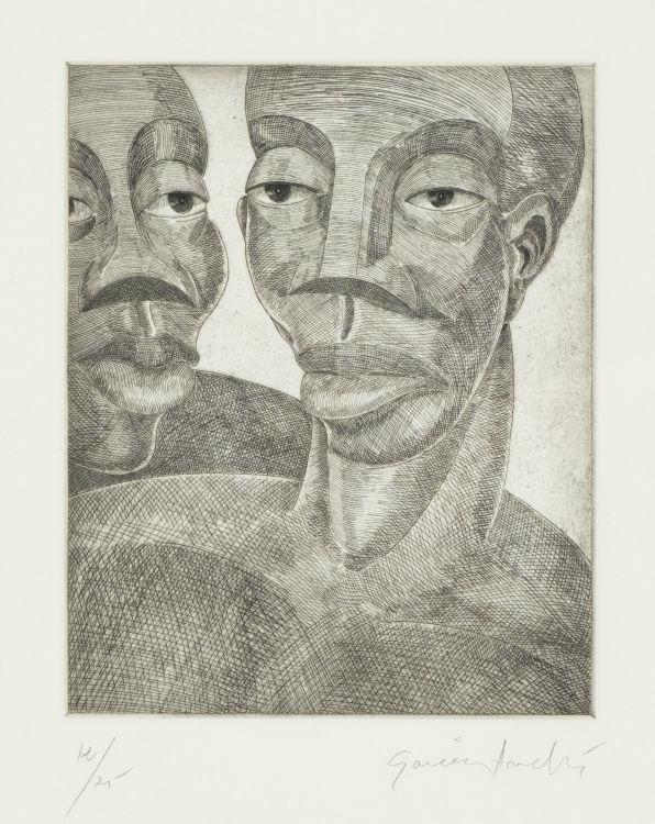 Alfredo Andres Garcia; Two Men