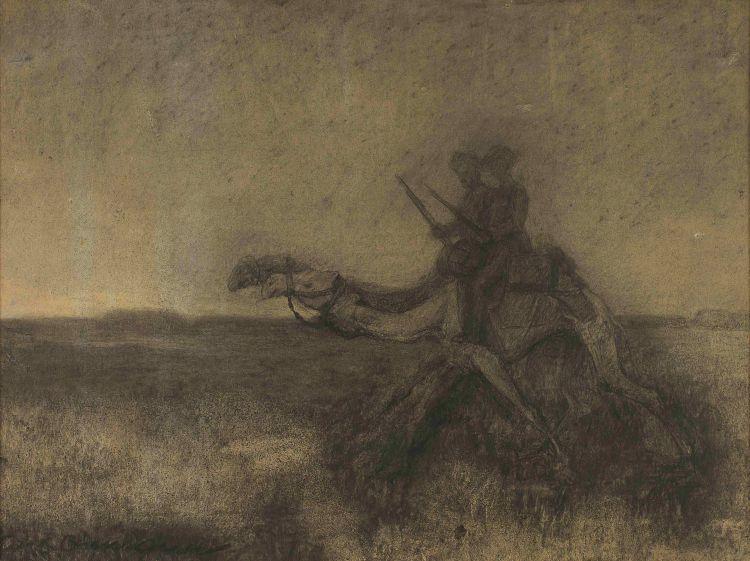 Carl Ossmann; Figures on Camelbacks