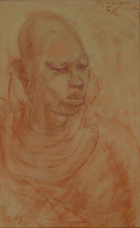 Fritz Krampe; Ngorongoso