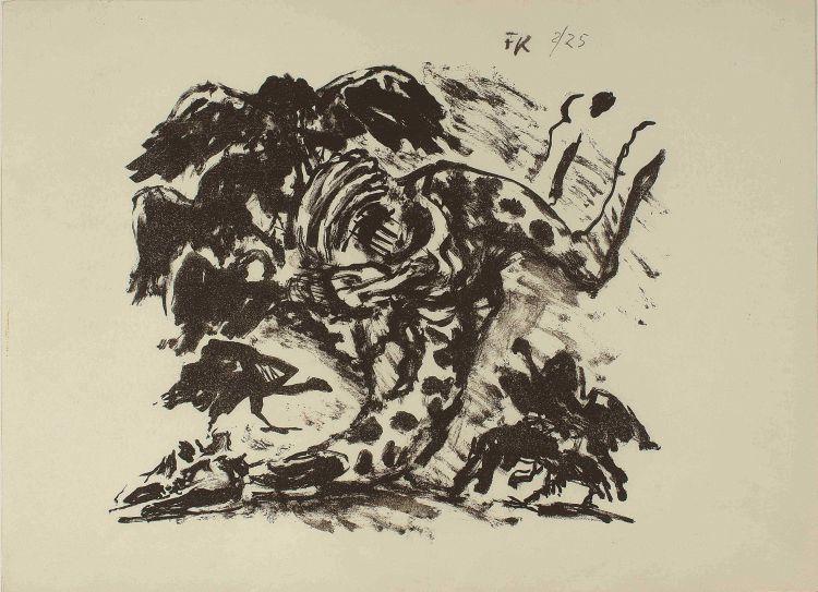 Fritz Krampe; Giraffe Kill