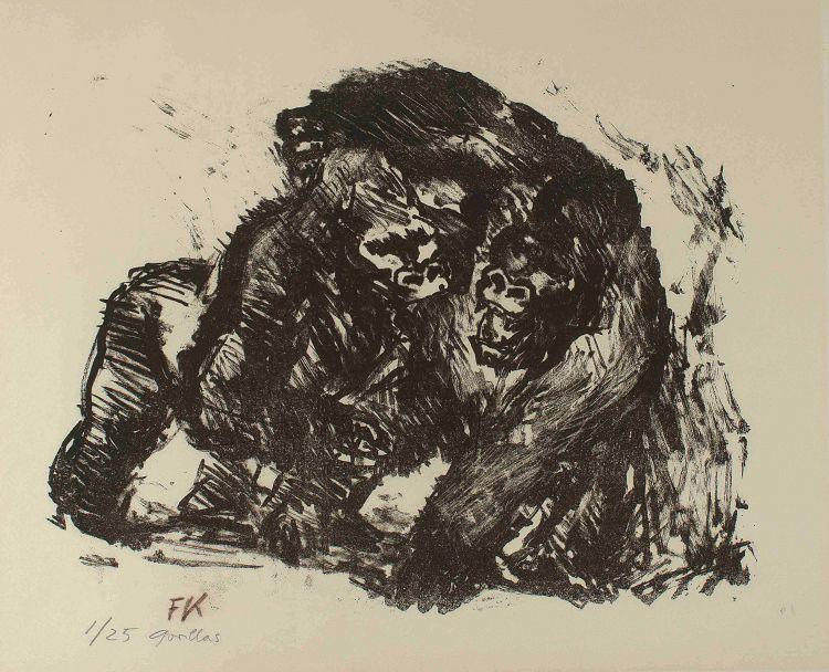 Fritz Krampe; Gorillas