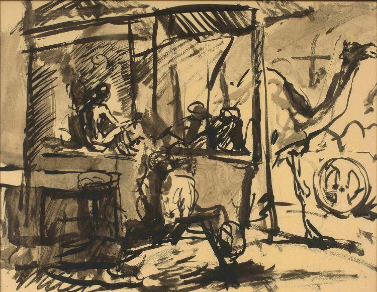Fritz Krampe; Figures and Camel