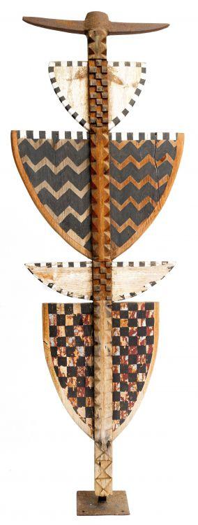 Strijdom van der Merwe; Totem with Pick Head
