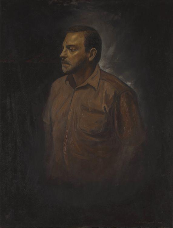 Lionel Smit; Portrait of Anton Smit