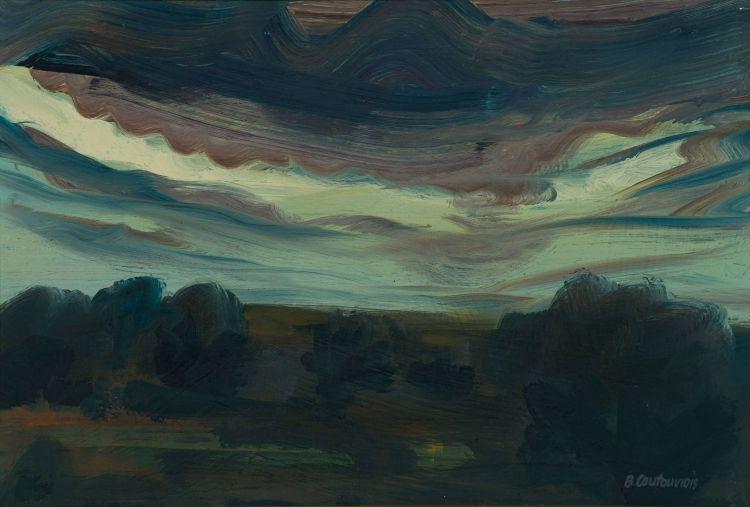 Ben Coutouvidis; Shadowed Landscape