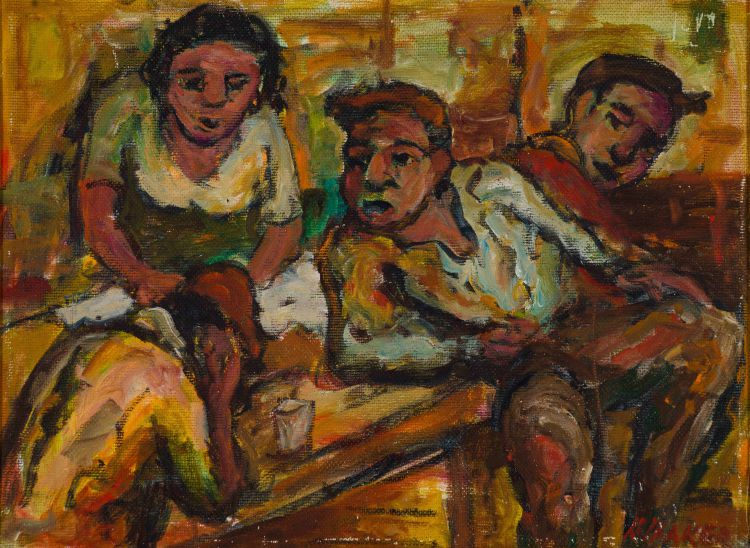 Kenneth Baker; Figures around a Table