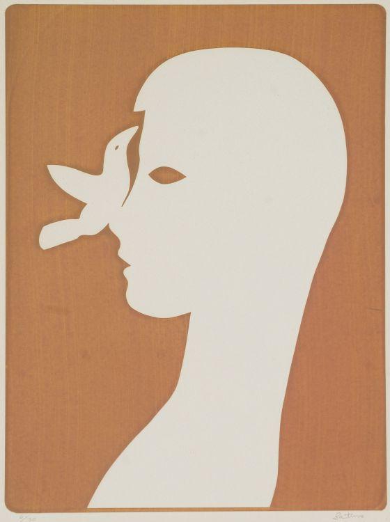 Walter Battiss; Bird on Nose