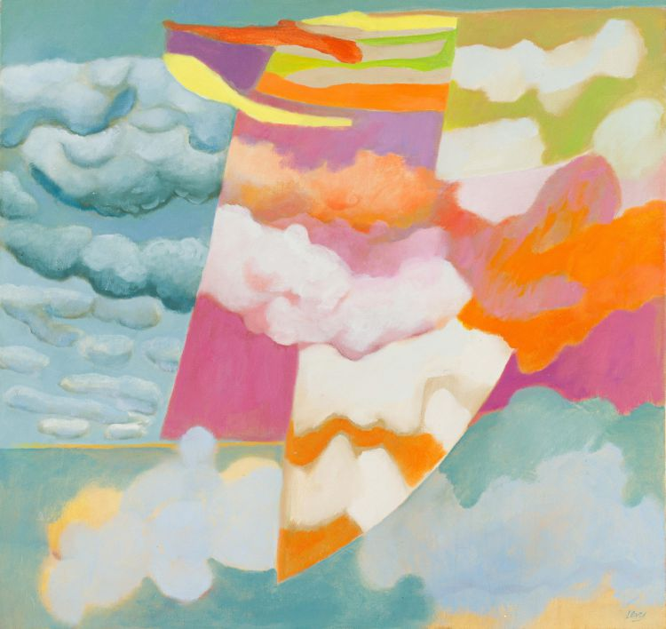 Ruth Levy; Abstract Clouds