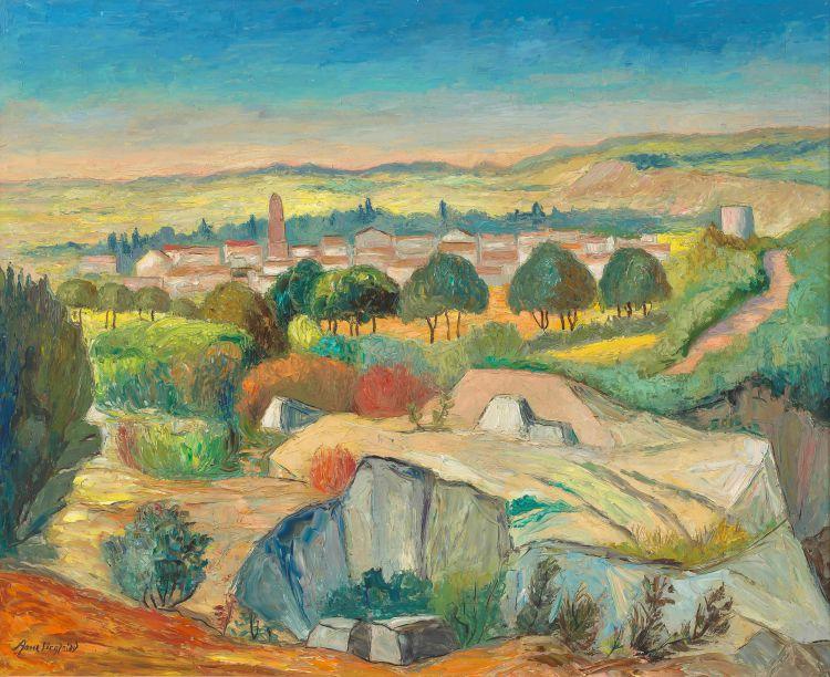 Arne Siegfried; Landscape