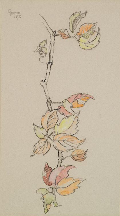 Gregoire Boonzaier; Autumn Leaves