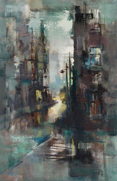 Ruth Squibb; Cityscape