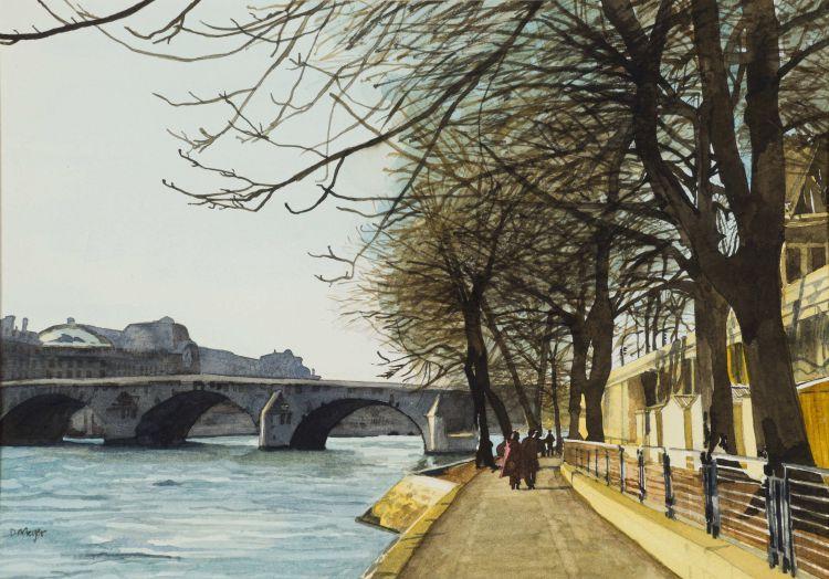 Denby Meyer; Along the Seine