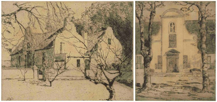 Robert Gwelo Goodman; Groot Constantia and A Cape Manor House, two