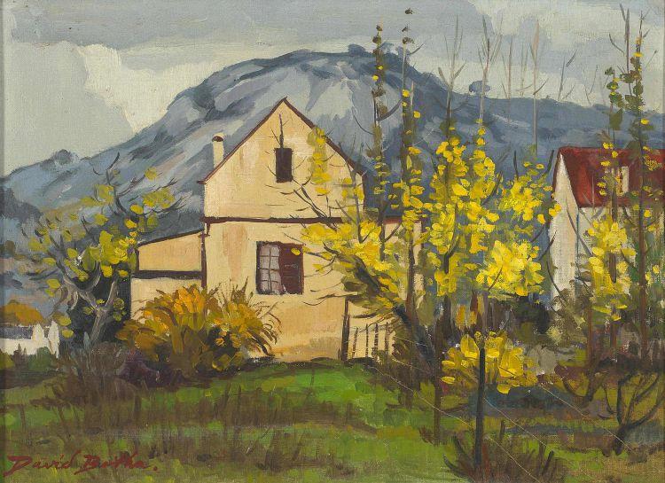 David Botha; Houses, Paarl