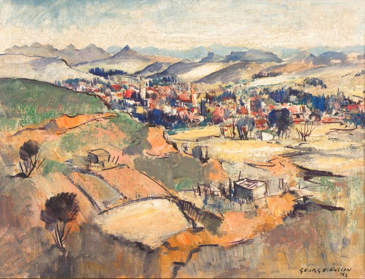 George Enslin; View over Harrismith