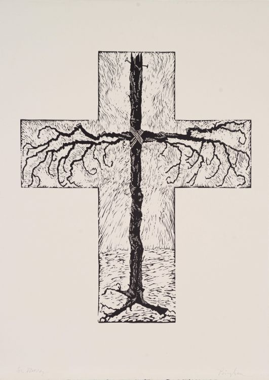 Niall Bingham; Crucifix