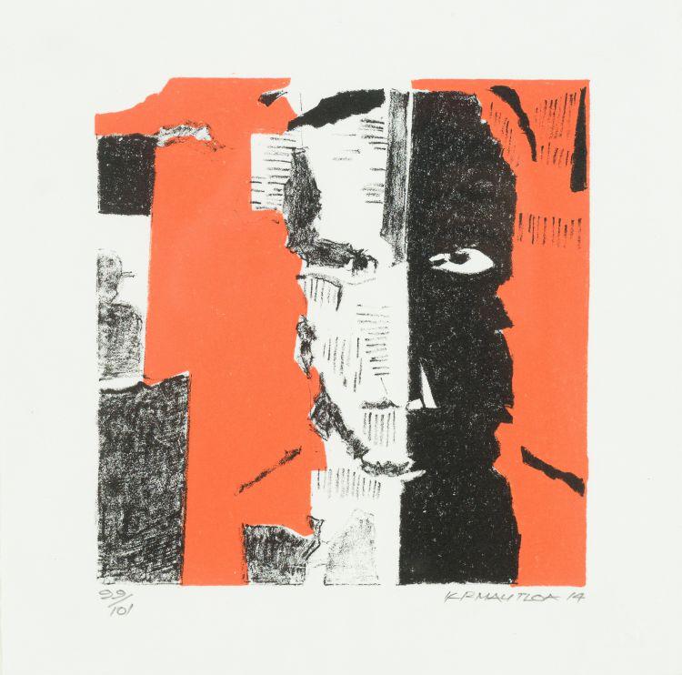 Kagiso Patrick Mautloa; Abstract Portrait