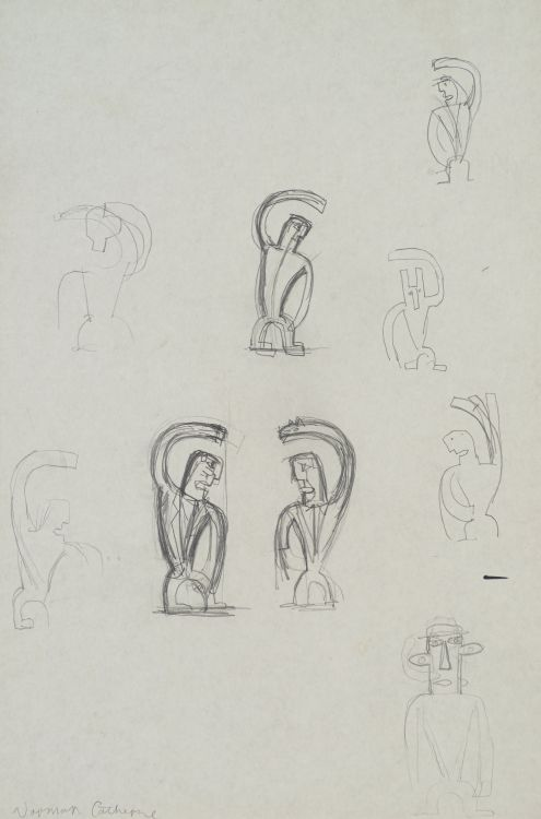 Norman Catherine; Figure Sketches