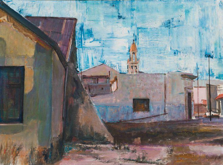 Sidney Goldblatt; Street Scene, District Six