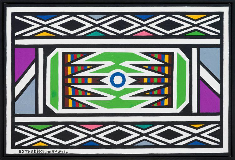 Esther Mahlangu; Ndebele Design