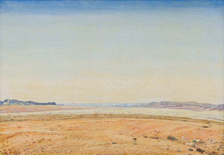Adolph Jentsch; Extensive Landscape, SWA