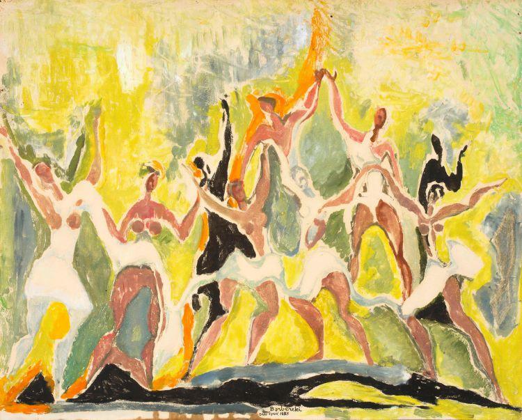 Zoltan Borbereki; The Dance
