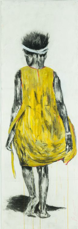 Nelson Makamo; Girl in a Yellow Dress
