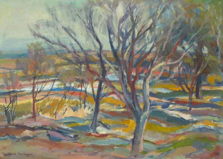 Herbert Coetzee; Autumn Landscape