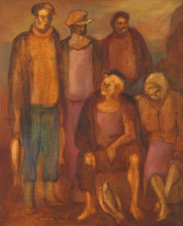 Amos Langdown; Fishermen