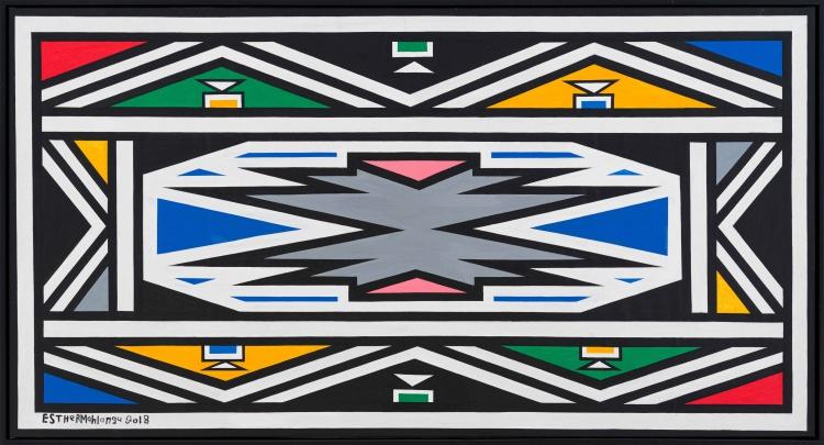 Esther Mahlangu; Ndebele Design III