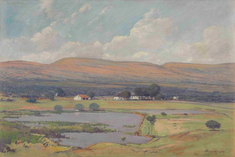 Jacob Hendrik Pierneef; Findlay Farm, Magaliesberg