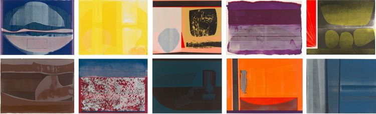 Lionel Abrams; Abstract Compositions, ten