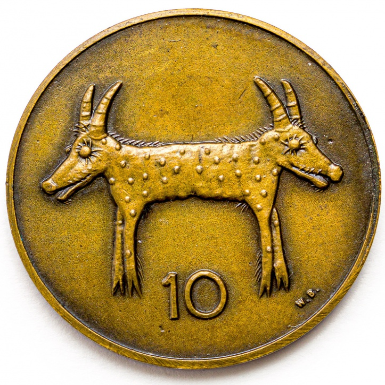 Walter Battiss; Fook Island Coin