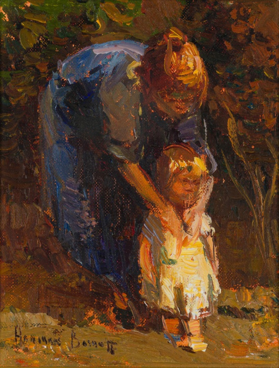 Adriaan Boshoff; Mother and Child