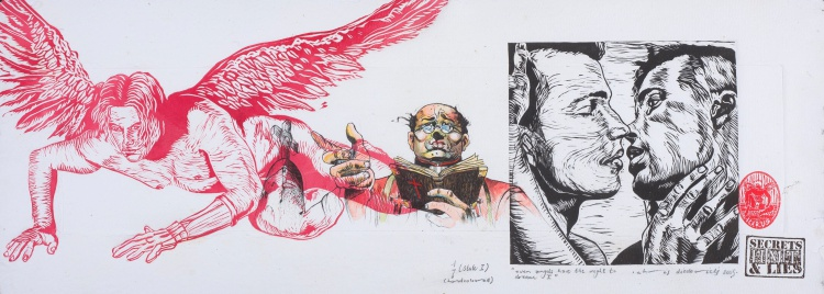 Christiaan Diedericks; Even Angels Have the Right to Dream I