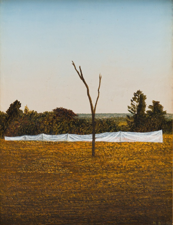 Mathew Brittan; Like a Tree of the Field, Man Strives Forever Upwards, from the Painting in the Old Style series