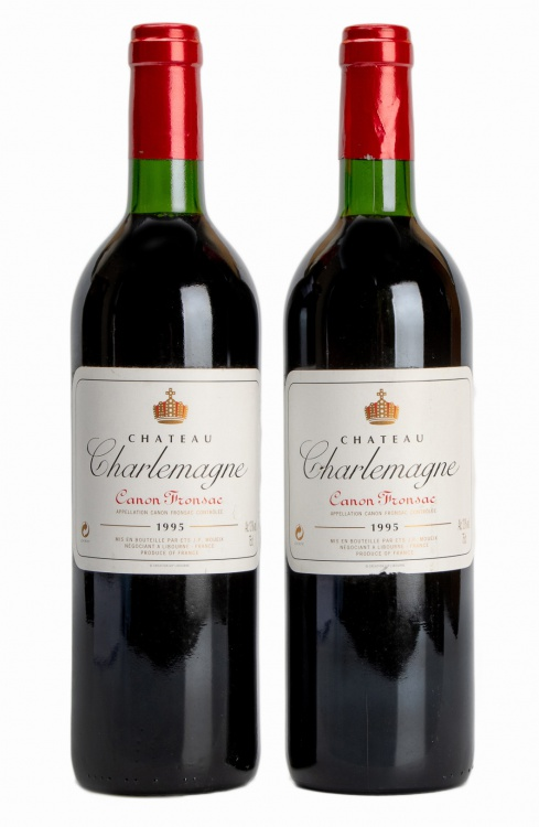 Charlemagne; Canon-Fronsac; 1995; 2 (1 x 2); 750ml
