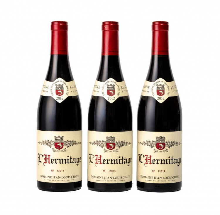 Jean-Louis Chave; Hermitage Rouge; 2012; 3 (1 x 3); 750ml