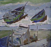 Nerine Desmond; Boats, Hout Bay