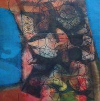 Louis Maqhubela; A Figural Composition