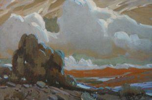 Sydney Carter; Landscape