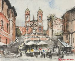 Terence McCaw; The Spanish Steps, Rome