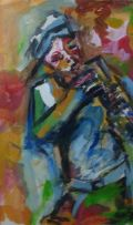 Winston Saoli; The Saxophone Player