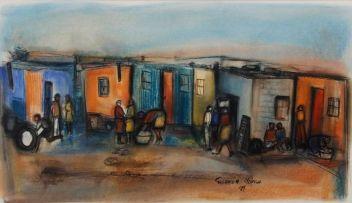 Godfrey Ndaba; Life in the Township